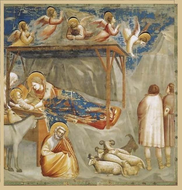Giotti, de geboorte